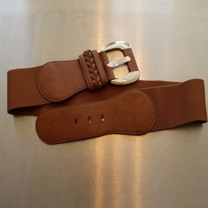 Brown waist belt